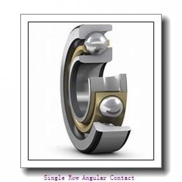 1 Inch x 2.5 Inch x 0.75 Inch  RHP mjt1-rhp Single Row Angular Contact