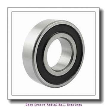 12mm x 28mm x 8mm  FAG s6001-2rsr-fag Deep Groove | Radial Ball Bearings