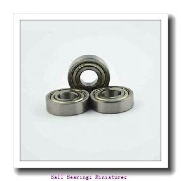 4mm x 11mm x 4mm  ZEN s694-2rs-zen Ball Bearings Miniatures #1 image