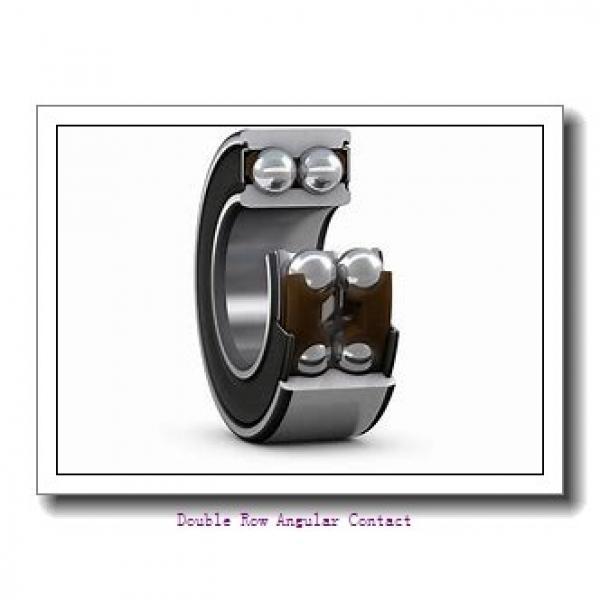 35mm x 72mm x 27mm  SKF 3207a/w64-skf Double Row Angular Contact #1 image