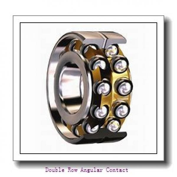 30mm x 62mm x 23.8mm  SKF 3206atn9/w64-skf Double Row Angular Contact #1 image