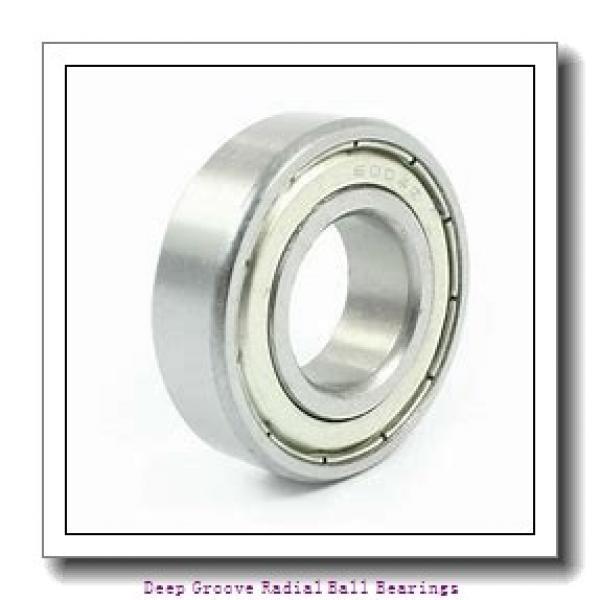 70mm x 125mm x 31mm  NSK 4214btnc3-nsk Deep Groove   Radial Ball Bearings #1 image
